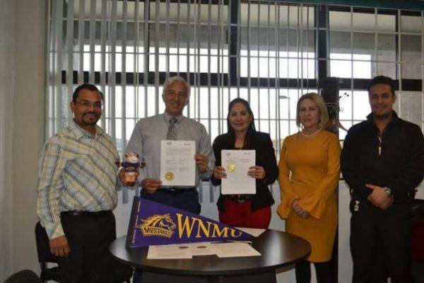 Firma UTP convenio de colaboración con la Western New México University