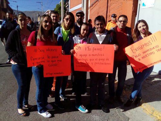 [VIDEO] Comienzan las manifestaciones de protesta por el no pago a maestros