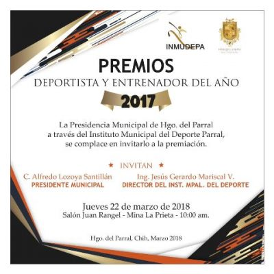Conozca los nominados al deportista del año 2017, premiación será este jueves