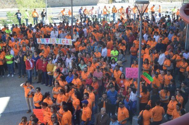 Termina bloqueo de oficinas de gobierno del estado