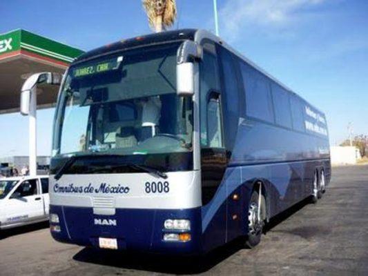 Sujeto intenta asaltar autobús de pasajeros en Jiménez