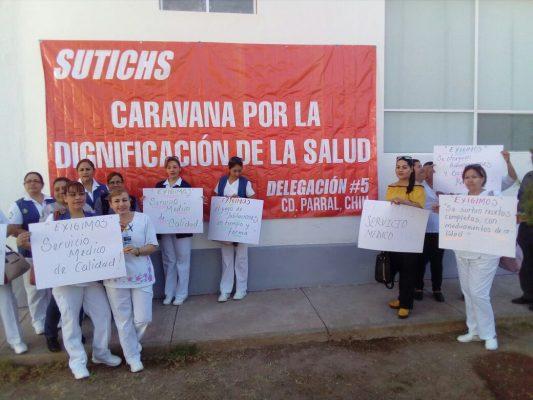 [VIDEOS]Se manifiestan 18 derechohabientes del Hospital Gineco Obstetricia ante la falta de medicamentos