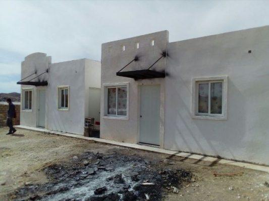 Invaden viviendas de la colonia pensiones