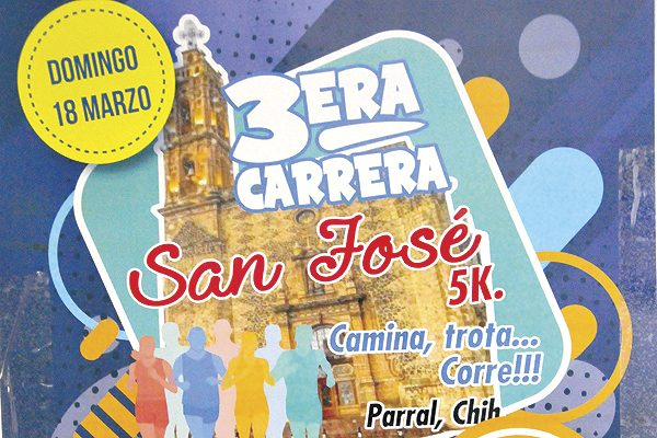 "Este domingo la carrera San José 5K ""Camina, Trota o Corre"""