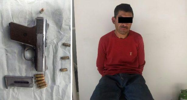 Detienen a sujeto que realizaba detonaciones en la colonia Benito Juárez