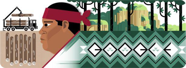 Conmemora Google aniversario del natalicio de Isidro Baldenegro, originario de Guadalupe y Calvo