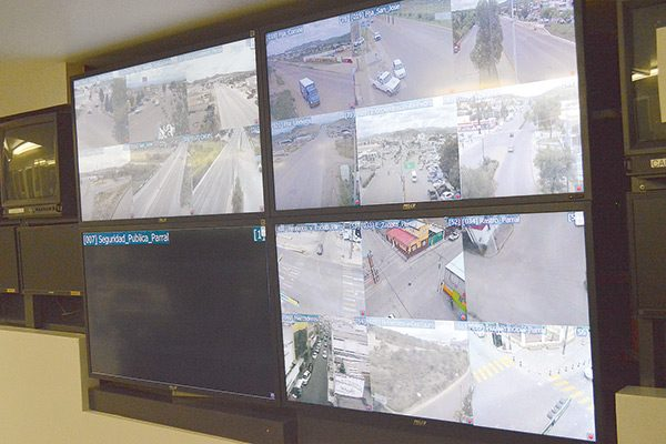 Falta voluntad por reparar cámaras de seguridad