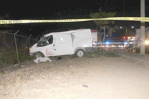Muere un hombre en accidente vehicular
