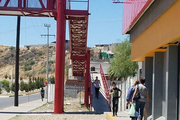 Cuatro de cada 10 personas se abstienen de usar el puente de  la Vialidad del Río