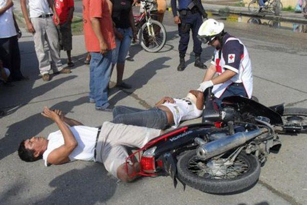 Van más de 42 infracciones y 37 accidentes de motociclistas