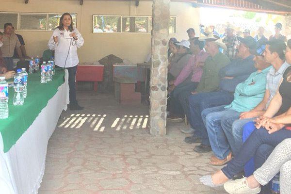Balleza, orgullo priista: candidata Graciela Ortiz