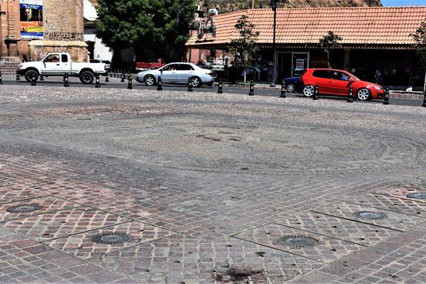 Llevan a Guadalajara fuentes de la plaza De la Identidad; les darán mantenimiento
