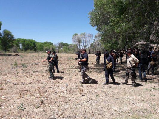Encuentran tres narcoparcelas en operativo Parral Jimenez.