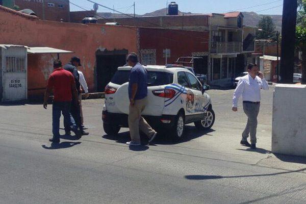 Choque en la avenida Villa Escobedo; dos menores lesionados