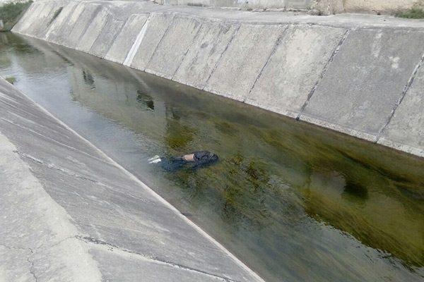 Tenía antecedentes por homicidio, hombre hallado sin vida en canal de Valle de Zaragoza