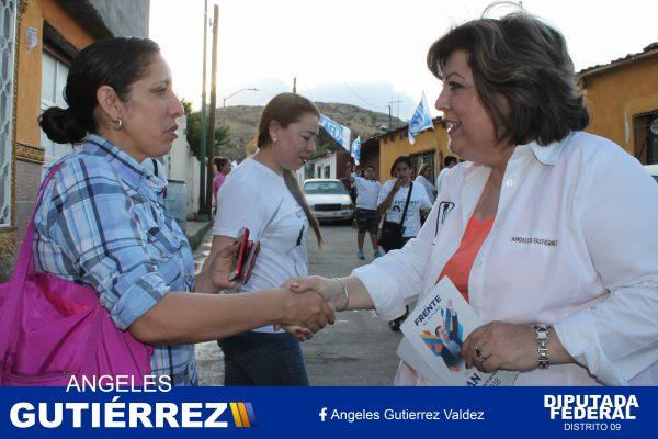 Un salario igualitario para Hombres y Mujeres: Ángeles Gutierrez