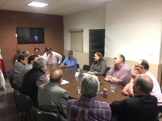 Se reúne Graciela Ortiz con el consejo de Coparmex Parral