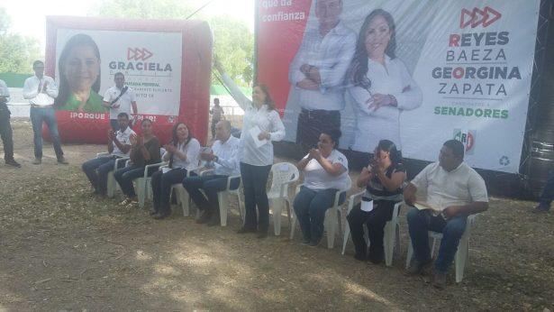 (VIDEO) Cientos reciben a Graciela Ortiz en Coronado