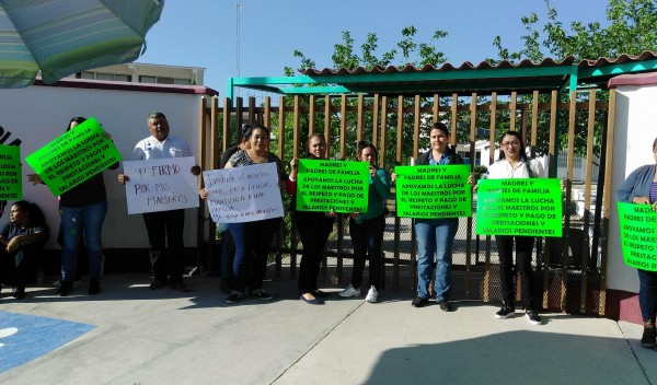 250 maestros se irán al paro indefinido