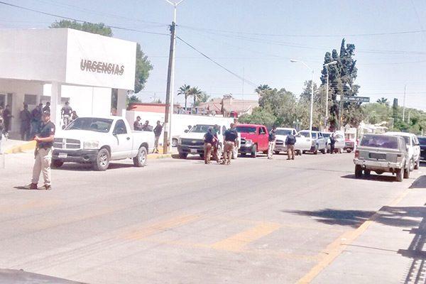 Llegan 50 vehículos de la Policía Ministerial y helicópteros