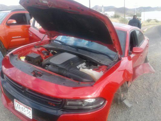 Aparatoso incidente en la vía corta a Chihuahua