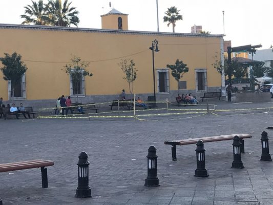 Cercan fuentes de la plaza de La Identidad