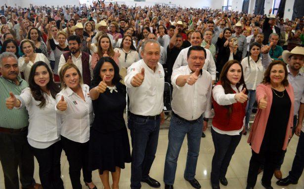 No es lo mismo criticar que gobernar un Estado, salgamos con valentía a tocar todas las puertas de Chihuahua: Osorio Chong