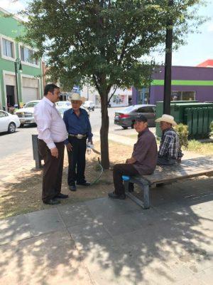 Ramón Arredondo, Síndico Municipal atiende reportes ciudadanos, refieren malas condiciones de áreas públicas