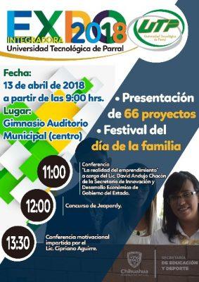 La UTP llevará a cabo su evento anual Expo Integradora 2018