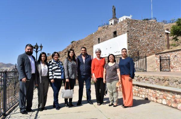 Se reúne el alcalde Alfredo Lozoya con la Secretaria de Cultura