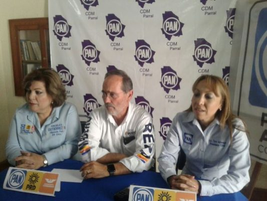 [Video] Acude a Parral el candidato a la senaduria Gustavo Madero