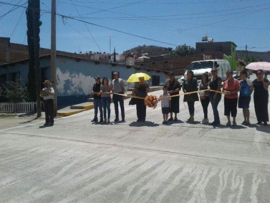 [VÍDEO] Inauguran vecinos segundo tramo de la calle Venezuela