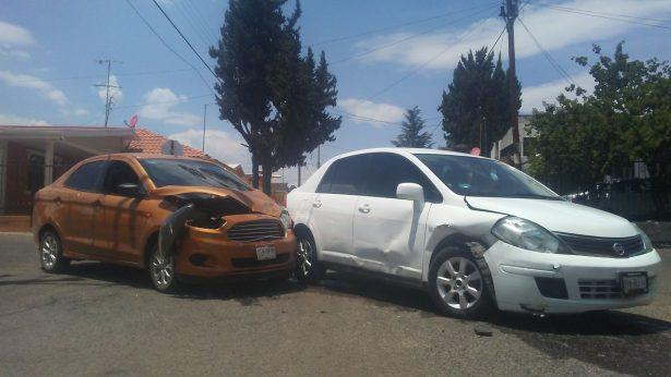 Accidente en la calle Francisco Sarabia