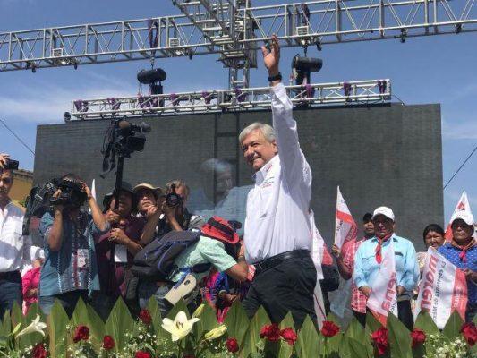 [Video] Inicia mitin del candidato por MORENA a la presidencia por la República Andrés Manuel López Obrador