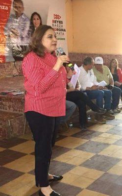 En estas elecciones se va a definir el tipo de país que queremos: Graciela Ortiz
