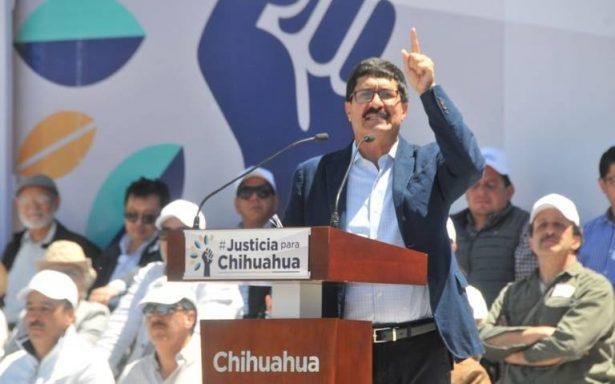 Vamos a llevar el caso Chihuahua a todo el país y el extranjero: Gobernador