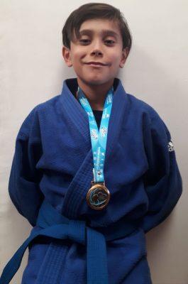 Se colgó el bronce Luis Enrique Rodríguez en sub-13 en campeonato nacional de judo