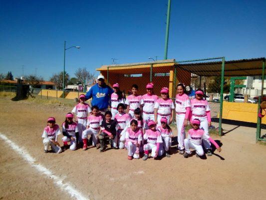 Mineritas estarán presentes en sub-12, en torneo de softbol infantil femenil
