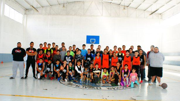 Mineritos de Parral, A.C. presentes con cinco equipos en la Copa Chihuahua de Basquetbol