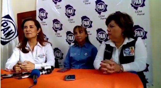 [Videos] Acude a Parral la candidata a la senaduría Rocío Reza con fin de dar a conocer su campaña