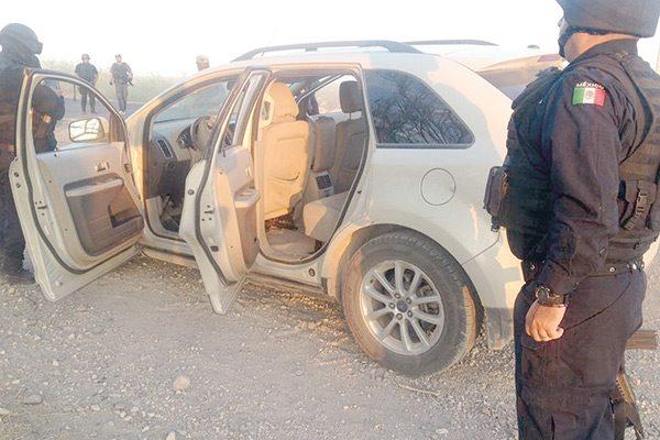 Otro enfrentamiento en Jiménez-Villa López; siete vehículos baleados