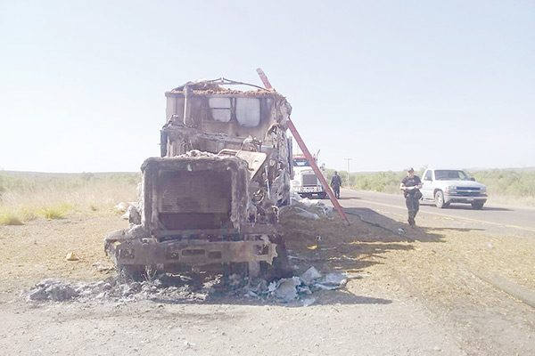 Matan a balazos a chofer de camión en la Vía Corta