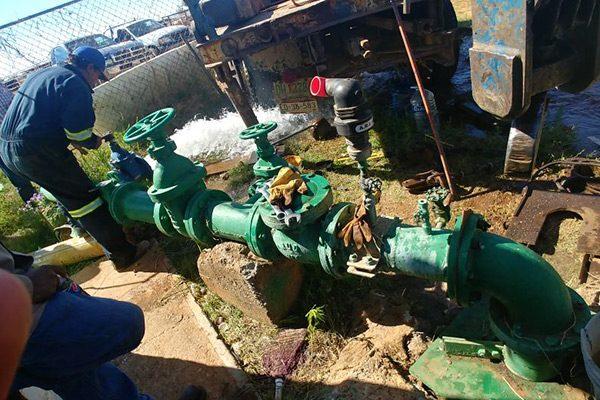 Restablecen abasto de agua en San Francisco del Oro