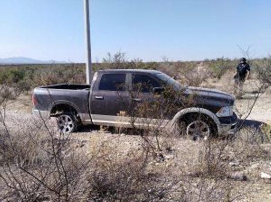 Localizan séptimo vehículo baleado en la región de Villa Lopez