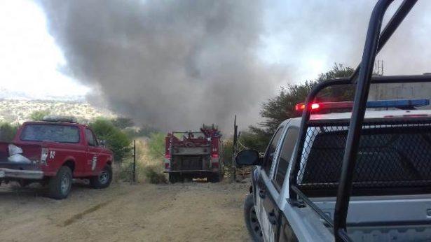 Otro incendio de pasto en las inmediaciones del Aranjuez