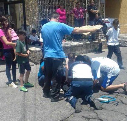 Atropellan a niño de 7 años en la Juárez