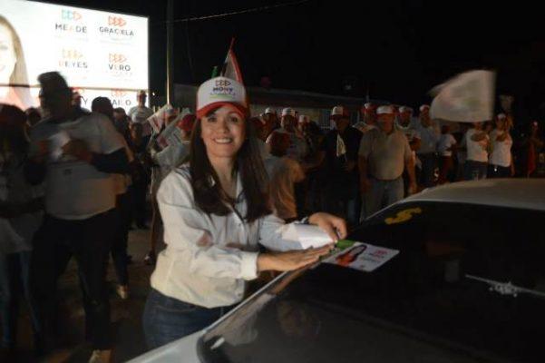 Inicio de campaña en Allende