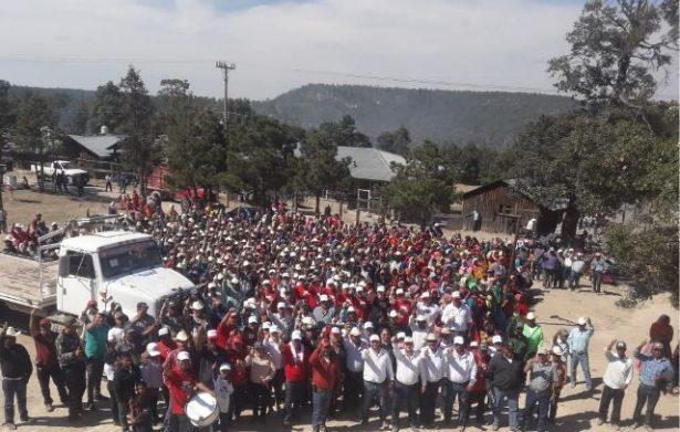 Apoyan más de 2 mil personas a Arturo Medina en el Tigre, Ejido San Carlos