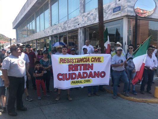 """(VÍDEO-GALERÍA) Se manifiesta """"Reten Ciudadano"""" marchando por las principales calles de la ciudad"""