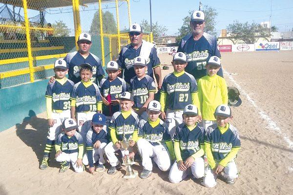 San Uriel de Parral, segundo lugar del torneo Distrital de Beisbol Williamsport